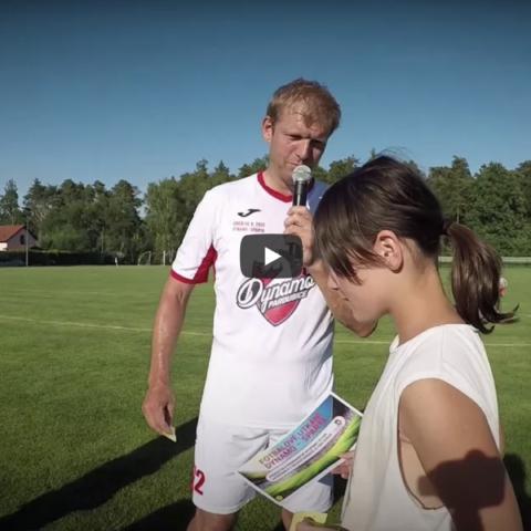Promo: Sestřih přátelského fotbalového utkání pro HC Dynamo Pardubice