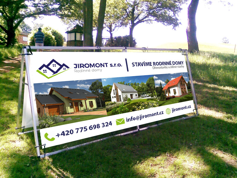 Banner Jiromont s.r.o.